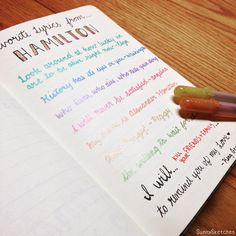 Favorite Hamilton lyrics... Ahhh it's so hard to chose! - Follow my Instagram! @sketches.sunny