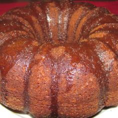 Black Russian Booze Cake.  Vodka and pudding mix make this cake gooey inside. Kahlua glaze puts it over the top.  An amazingly delicious boozey cake.