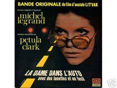 mod organ music album covers | close michel legrand petula clark la dame dans l auto lp