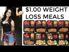 EASY LAZY MEAL PREP FOR WEIGHT LOSS! CANT GET ANY EASIER! | JORDAN CHEYENNE - YouTube