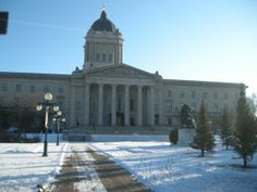 Manitoba Legislature. Louvre, Canada, Building, Outdoor, Outdoors, Buildings, Outdoor Games, The Great Outdoors, Construction