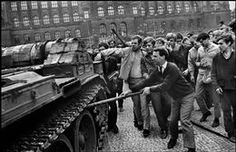 the warsaw pact invasion of czechoslovakia Magnum Photos, Prague Spring, Warsaw Pact, Visit Prague, East Germany, Old Paintings, More Pictures, Woodstock, Vintage Images