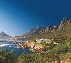 Where the mountains end and the ocean begins, Twelve Apostles Hotel & Spa near beautiful Cape Town offers exceptional service and a stunning location - the kind of place a traveler never forgets. Kruger National Park, National Parks, Cape Town Wedding Venues, Safari, Table Mountain, Mountain Range, Cape Town South Africa, Great Hotel, Travel Planner