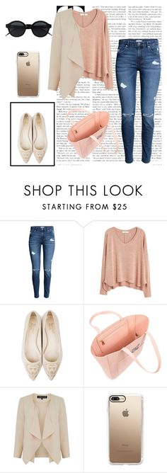 """Love of Fashion"" by maja-bl ❤ liked on Polyvore featuring MANGO, Beyond Skin, Warehouse and Casetify"