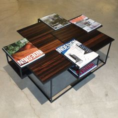 Linteloo's Vanity coffee table by Netherlands designers Roderick Vos. #furnituredesign #linteloo