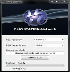 #Generateurdecodepsn Le Meilleur Generateur de code PSN http://virtual-hack.fr/generateur-de-code-psn/