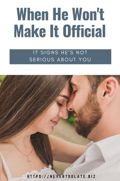 Seeing signs he doesn't want a relationship with you but likes you? It can be so confusing. Here's how to know for sure if he is truly interested. Dating After 40, Dating Again, Dating Blog, Dating Advice, Relationship With A Narcissist, Relationships, Intimacy Issues, Crazy Ex, Life Decisions