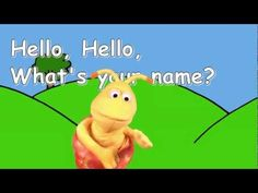 Hello Song for Kids Kindergarten Songs, Preschool Songs, Kids Songs, Get To Know You Activities, Name Activities, Hello Song For Kids, Presente Simple, Transition Songs, Name Songs