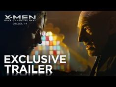 X-MEN: DAYS OF FUTURE PAST - Official Trailer 1 (2014). This looks like it's set to be the best X-Men movie ever!! Can't wait to watch it!! Lucky #7.