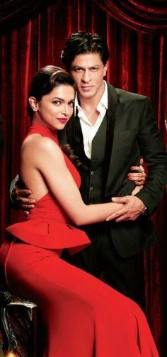 King and Queen of Bollywood Deepika and Shah Rukh Khan