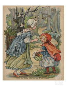Little Red Riding Hood by A.L. Bowley.