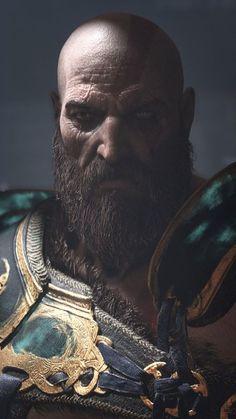 Kratos, God of War wallpaper Playstation, Xbox, King's Quest, God Of War Series, Kratos God Of War, Geeks, Spartan Warrior, Gears Of War, Jessica Nigri