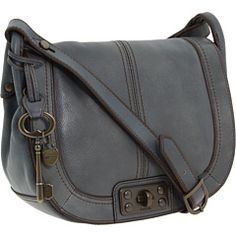 FOSSIL VINTAGE RE-ISSUE FLAP CROSSBODY WITH LOCK