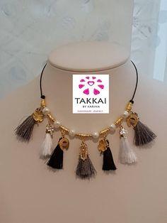 Tassel Necklace Shop in Etsy. Etsy Jewelry, Boho Jewelry, Handmade Jewelry, Women Jewelry, Rakhi Design, Dream Catcher Necklace, Catholic Jewelry, Thread Jewellery, Lucky Charm