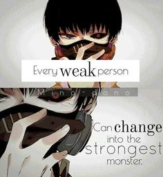 Every weak person can change into stongest monster