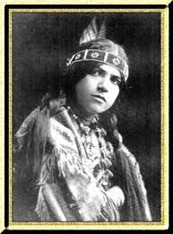 Princess Red Wing (1884 - 1974) Born of the Winnebago Nation, in Nebraska, she was also known as Lillian Red Wing St. Cyr and Winona Red Wing. Entering films in 1908, she was the first Native American actress to become a noted star. She performed in more than 35 films. She starred her husband James Young Deer, who was also a director. She had 3 prominent roles in Cecil B. DeMille films. After the silent era was over, Princess Red Wing devoted herself  to Indian affairs in Washington, DC.