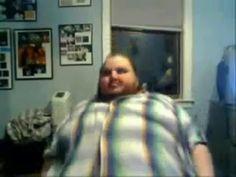 Fat guy falling