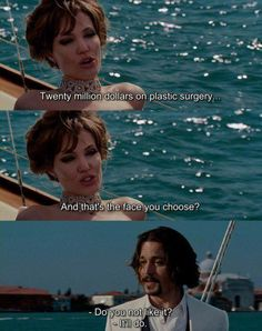 The Tourist. One Of My Favourite Angelina Jolie Johnny Depp Movies. Johnny Depp Quotes, Johnny Depp Movies, Tv Show Quotes, Film Quotes, Love Movie, Movie Tv, Movie Scene, The Tourist Movie, Angelina Jolie Quotes
