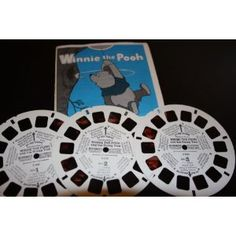 Amazon.com: Three View-Master Reels Winnie the Pooh and The Honey Tree (1, 2, and 3): Toys & Games