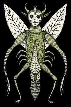 Ten-Legged Creepy Crawly Art Print- Jon MacNair