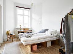 stadshem kungsgatan 9b bedroom diy plywood bed ems designblogg