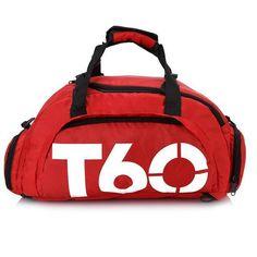 005d57c7fb 2018 Brand Women Gym Bags T60 Waterproof Outdoor Men Luggage Travel Bag