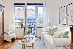 Un mini piso de 38 m² con mucho encanto