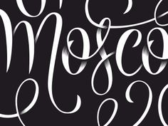 50 Inspiring Examples of Hand-lettering - Tim Brown