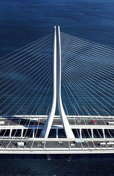 Zaha Hadid Architects gana concurso para diseñar nuevo puente de 960 metros en Taiwán,© Danjiang Bridge por Zaha Hadid Architects, render por MIR