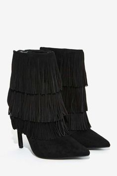 Fringe Benefits Stiletto Boot