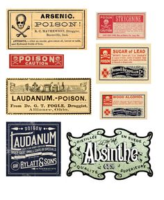 15 Free Vintage Halloween Printables For more Halloween Printables go here. For these 15 Free Vintage Halloween Printables from Remodelaholic here. Here are a few of my favorites from this roundup: Halloween Apothecary Labels, Halloween Bottle Labels, Halloween Potions, Halloween Crafts, Creepy Halloween, Halloween 2018, Halloween Cosplay, Halloween Stuff, Halloween Pumpkins