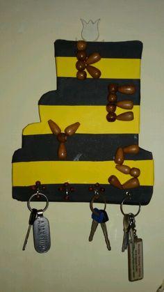 a smpl way to hang yur keys... :-)