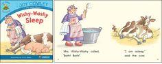 Wishy-Washy Sleep—by Joy Cowley Series: Joy Cowley Early Birds GR Level: C Genre: Narrative, Fiction