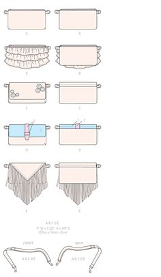 McCall's Sewing Pattern Waist Purses With Convertible Strap Waist Purse, Mccalls Sewing Patterns, Line Art, Convertible, Purses, Create, Handbags, Infinity Dress, Line Drawings