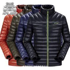 Online Shop Marca Originale Mens Piumini Caldi delle Nuove donne 2016 Moda Inverno parka Slim Fit Uomini di Svago Stile AFS JEEP Cappotti traspirante | Aliexpress Mobile
