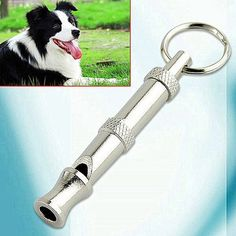 1Pc Hot Pet Dog Training Adjustable Whistle Sound Pet Products For Dog Puppy Dog Whistle Stainless