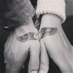 #couplestattoo #valentinesday #love #smalltat @smalltatt