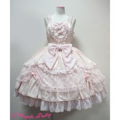 Blossom Princess JSK ❤ liked on Polyvore featuring lolita and jsk