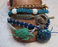 More Macrame Bracelet Tutorials ~ The Beading Gem's Journal