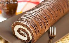 Rotolo al cacao con crema al mascarpone e caffè, ricetta