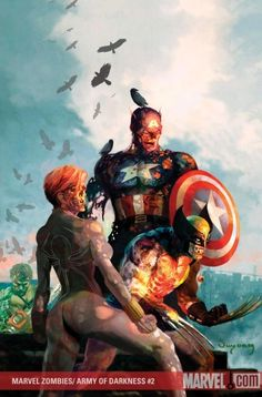 Marvel zombies - Captain America