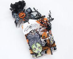Mini Bag Flips/Loaded Envelopes   Halloween Happy Mail Series shop.serenabee.com