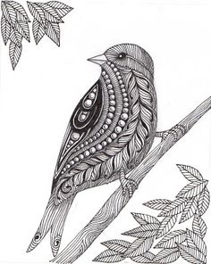 Loads of Zentangle animals for you to draw inspiration from, and then make your own. Including links for animal outlines and zentangle pattern ideas. Doodle Art Drawing, Zentangle Drawings, Doodles Zentangles, Bird Drawings, Zentangle Patterns, Zentangle Animal, Zentangle Art Ideas, Doodling Art, Design Art Drawing