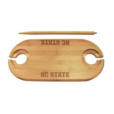 North Carolina State Bamboo Picnic Table