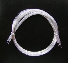Mizuhiki Japanese Decorative Paper Strings Cords Silver
