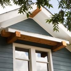 shutter awnings - yes, please, once we start on the exterior ...