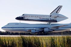 Space Shuttle Endeavour Returns To Cape Canaveral Atop Plane ...