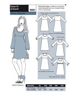 ONION - Pluspige kjole 9001/35