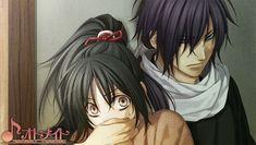 Yukimura Chizuru & Saitou Hajime   Hakuouki Kyoukaroku 薄桜鬼 鏡花録 #otomegame