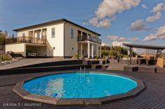 Myytävät asunnot, Skepparsintie 232 Linnanpelto Sipoo #uima-allas #oikotieasunnot